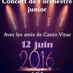 Concert du 12 juin 2016