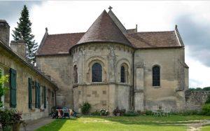 Abside Eglise de Saint-Etienne-Roilaye