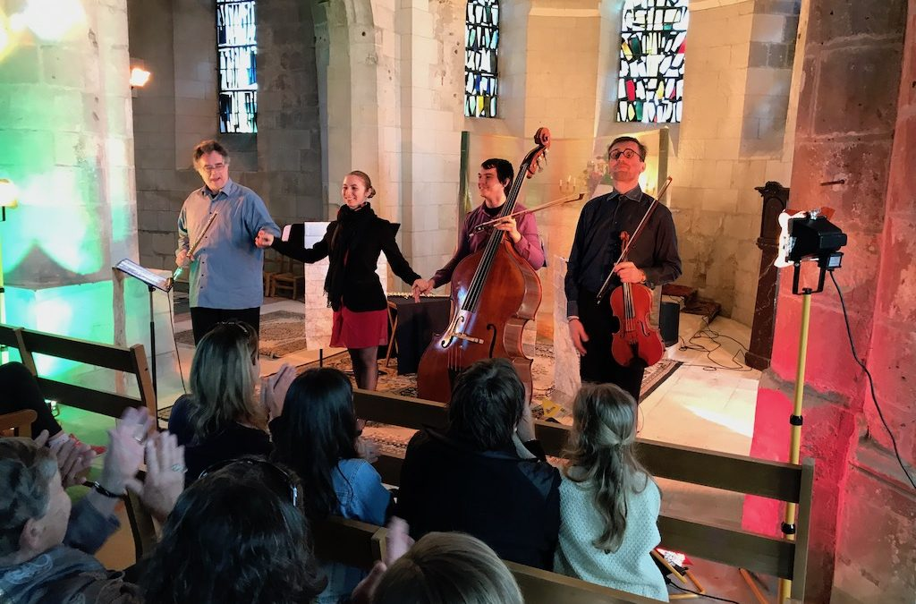 Voyage musical en l'église de St-Etienne-Roilaye