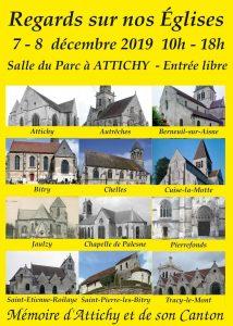 Regards sur nos Églises @ salle du Parc à ATTICHY | Attichy | Hauts-de-France | France